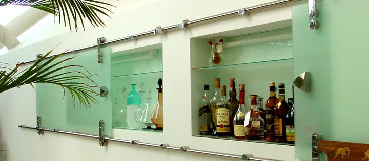 sticla colorata